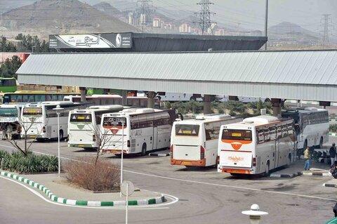 جابه جایی یک میلیون مسافر از طریق پایانههای مسافربری مشهد در آذرماه