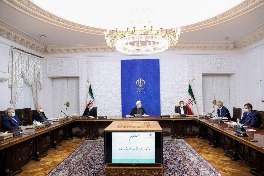 روحانی: حمایت از سرمایهگذاری برای تولید نیازمند ثبات اقتصادی است