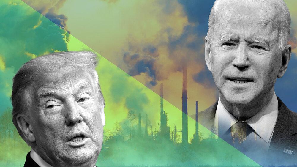 تغییرات اقلیمی از دید بایدن و ترامپ
