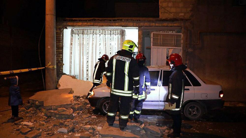 انفجار اسپری چسب ساختمان مسکونی را ویران کرد