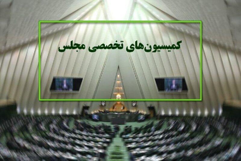 اعلام دستورکار هفته آینده کمیسیونهای مجلس