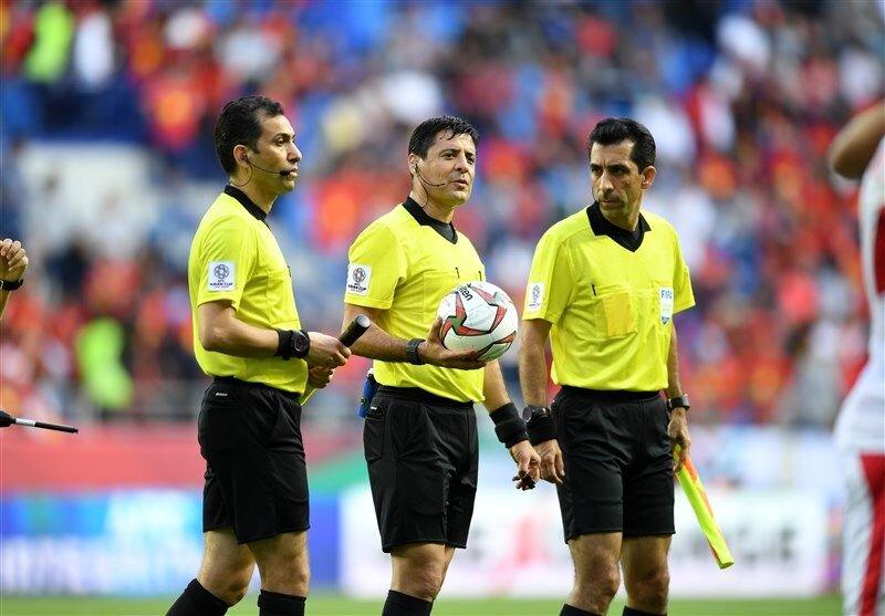 تایید داوران بینالمللی توسط فدراسیون بینالمللی فوتبال