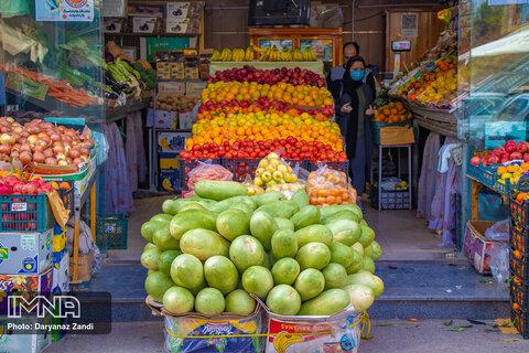 قیمت میوه و تره بار در بازار امروز ۲ اردیبهشت + جدول