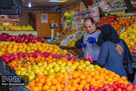 قیمت میوه و تره بار در بازار امروز ۲ بهمن + جدول