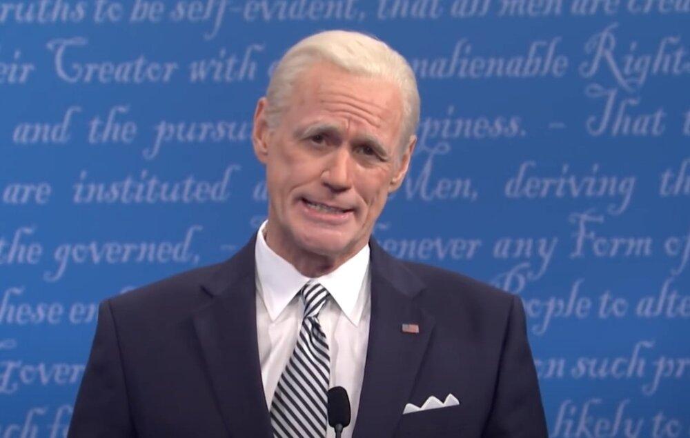 جیم کری از نقش بایدن استعفا داد