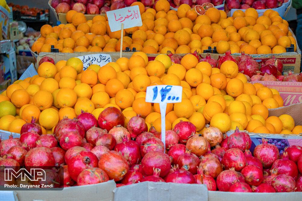 قیمت میوه و ترهبار در بازارهای کوثر امروز ۸ دیماه+ جدول