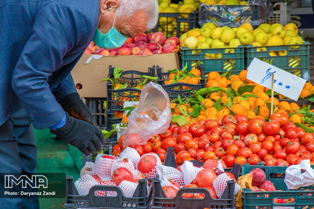 قیمت میوه و ترهبار در بازارهای کوثر امروز ۱ دیماه+ جدول