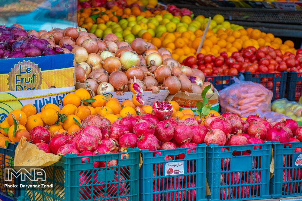 قیمت میوه و ترهبار در بازارهای کوثر امروز ۲۲ دی+ جدول