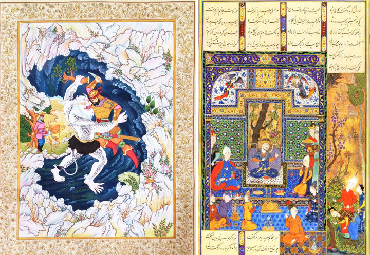 Miniature treasure of Persian Art