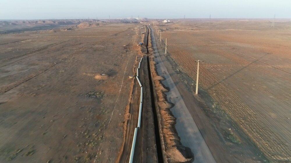 احداث خط انتقال پساب برای استفاده در آبیاری فضای سبز شهر قم