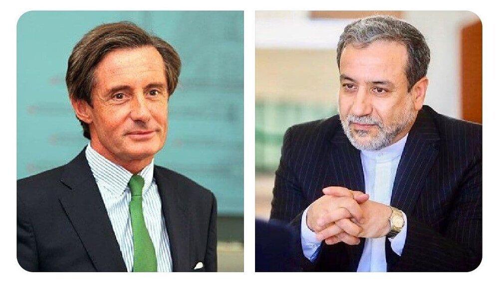 تماس تلفنی قائم مقام وزارت خارجه اتریش با عراقچی