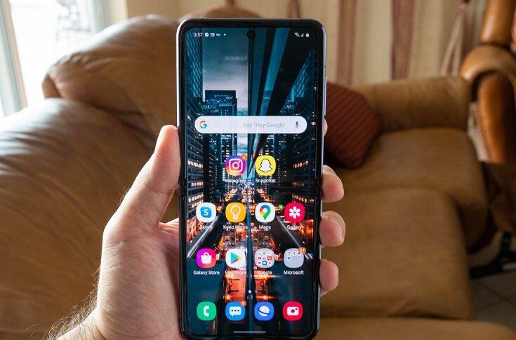 به روز رسانی اندروید ۱۱ برای گوشی گلکسی Z Flip 5G