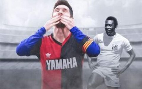 ادعای عجیب برزیلیها درمورد رکوردشکنی مسی!