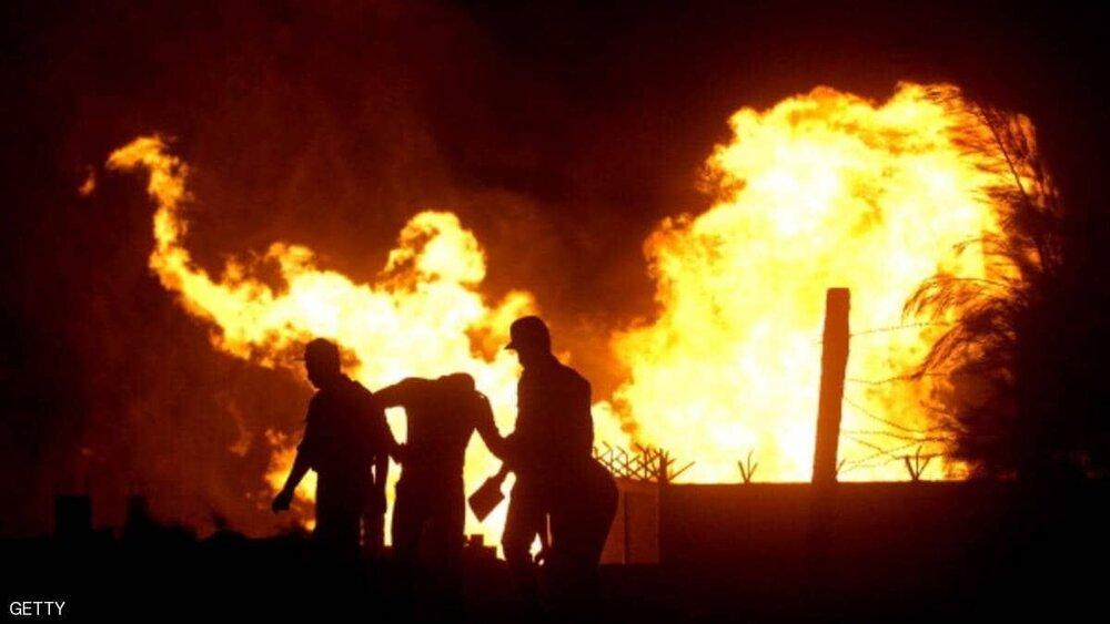 افراد مسلح خط لوله گاز العریش مصر را منفجر کردند