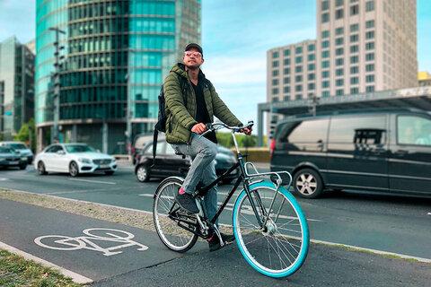 احداث خطوط ایمن دوچرخهسواری در هامبورگ