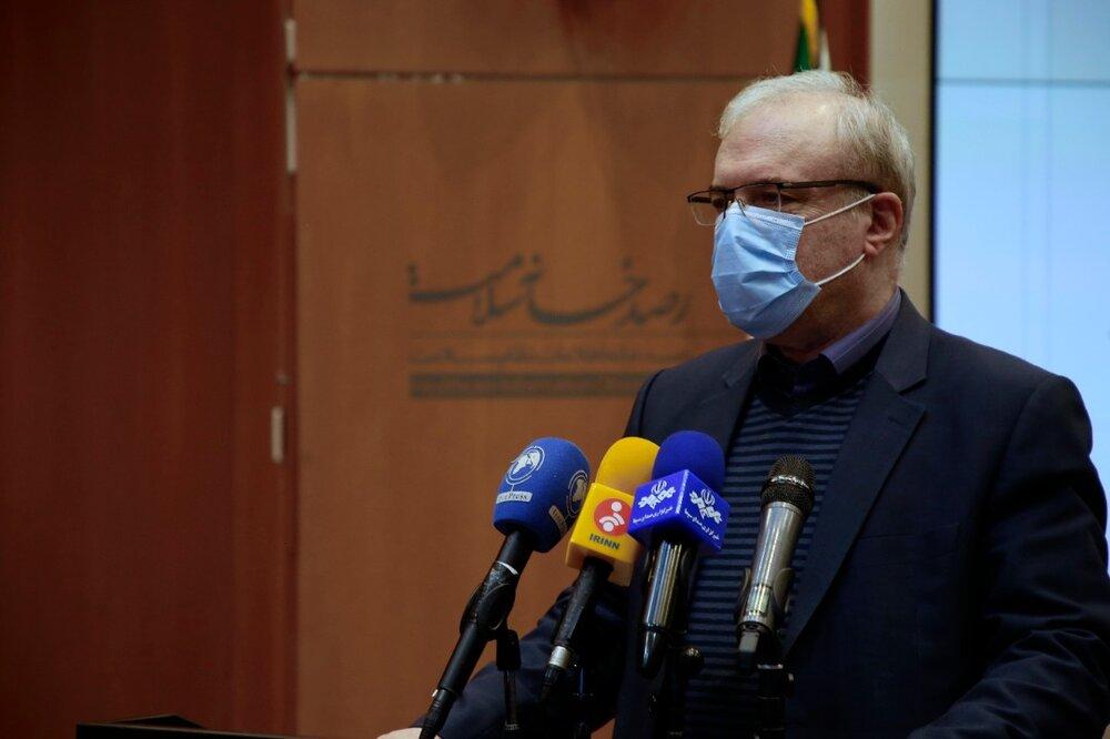 نمکی: گرفتاری خوزستان با ویروس جهش یافته کرونا به دلیل مسافران عراقی بود