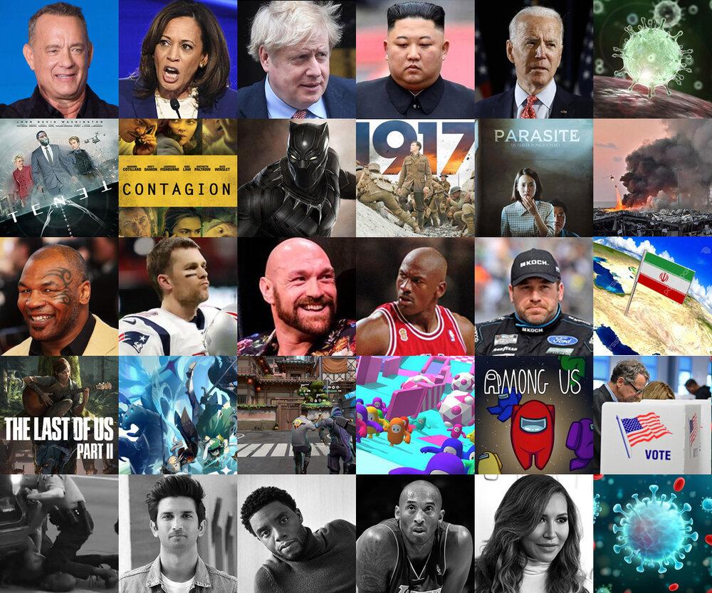 مردم جهان در ۲۰۲۰ چه جست جو کردند؟ + اسامی افراد و لیست ترندها