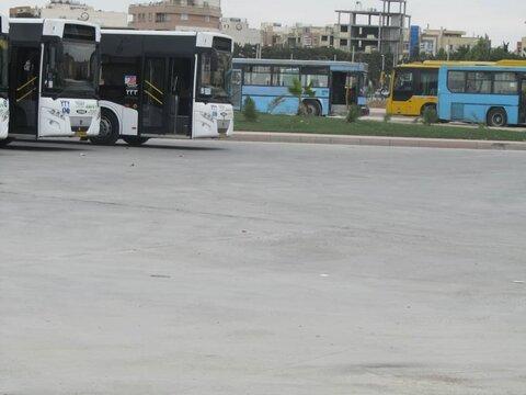 سرویسدهی ۱۴ خط اتوبوس درون شهری در پارک سوار عاشق آباد