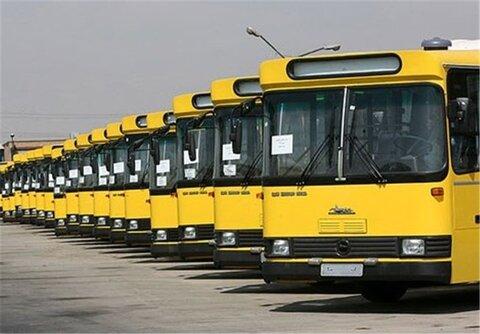 ۲۰ دستگاه اتوبوس ناوگان حمل و نقل دورن شهری سنندج بازسازی شد