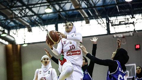 شکست سنگین تیم بسکتبال پاز از مهرام