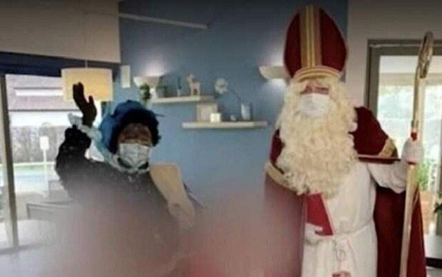بابانوئل کرونایی ۱۶۰ نفر را به ویروس آلوده کرد