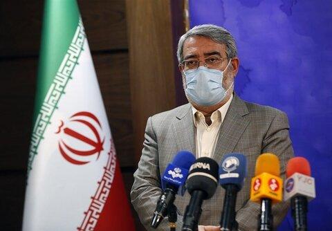 رحمانی فضلی: درباره تعطیلی تهران تصمیمی گرفته نشده است