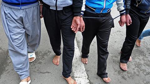 دستگیری دالتونهای نیشابور به وقت بامداد