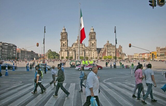 تلاش مکزیک برای تغییر کاربری خیابانها