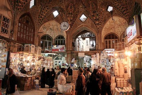 Tehran's Grand Bazaar maze of bustling alleys