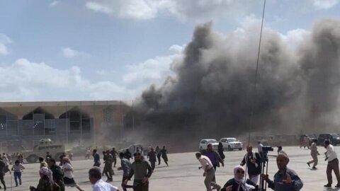 سازمان ملل حمله به فرودگاه عدن را جنایت جنگی خواند