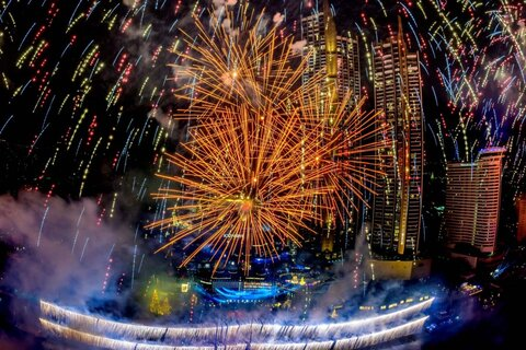 New Year 2021 celebrations around the world