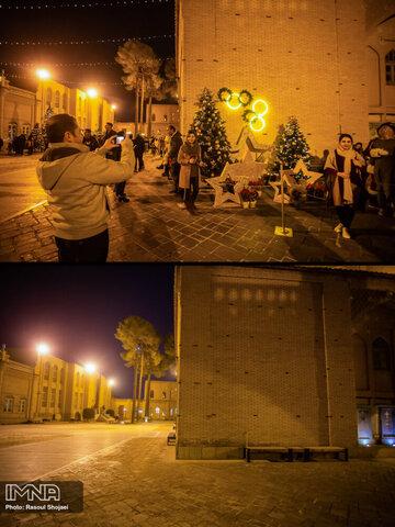 سال نو میلادی در محله جلفا