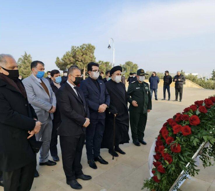گرامیداشت سالگرد شهید سلیمانی در سفارت ایران در آذربایجان