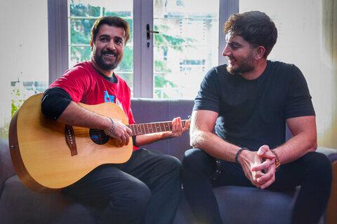 آغاز فیلمبرداری آهنگ دو نفره با بازی احمد مهرانفر و فرزاد فرزین