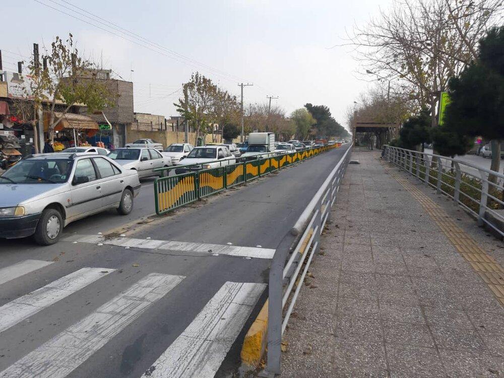 ساماندهی تردد وسایل نقلیه شخصی در منطقه ۱۵