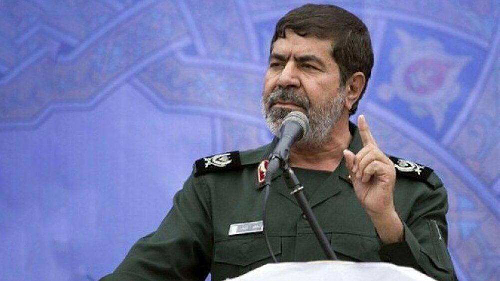 سخنگوی سپاه: زمان و مکان انتقام خون سردار سلیمانی را ایران تعیین میکند