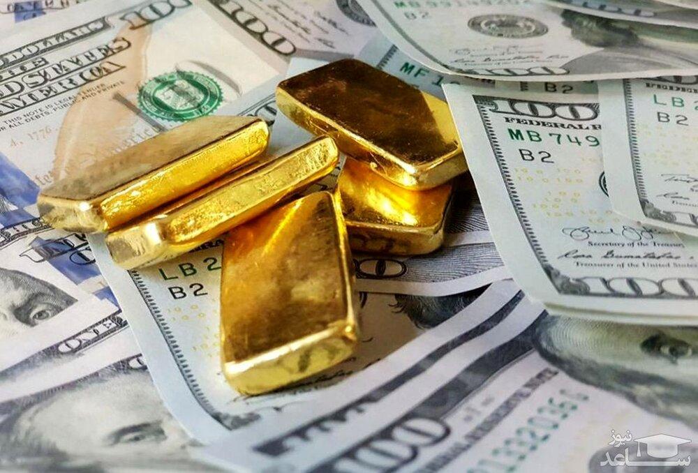 دلار, سکه و طلا در سراشیبی قیمت