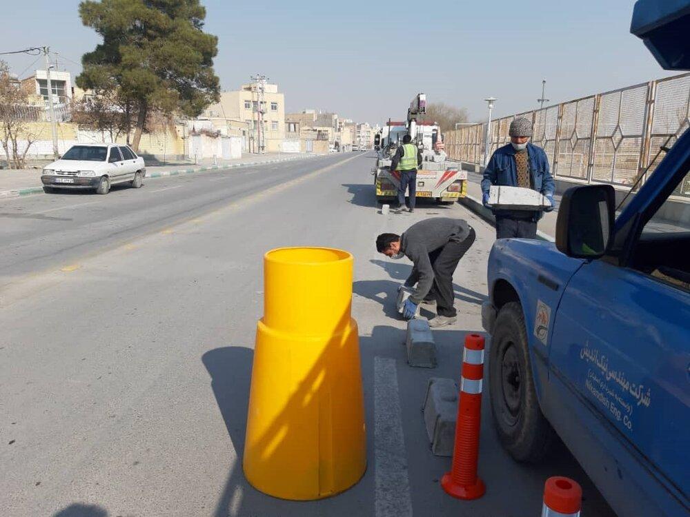 آغاز عملیات اجرایی احداث مسیر اختصاصی دوچرخه در منطقه ۱۵