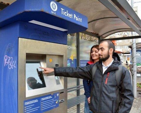 مدرنسازی ارائه بلیط حمل و نقل عمومی در بلغارستان