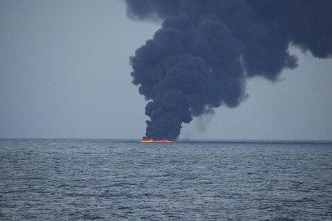 کشتی سانچی از انفجار تا غرق شدن + جزییات