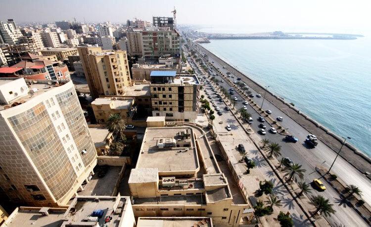 تعریض بلوار ساحلی حدفاصل میدان لارک و بندرحقانی