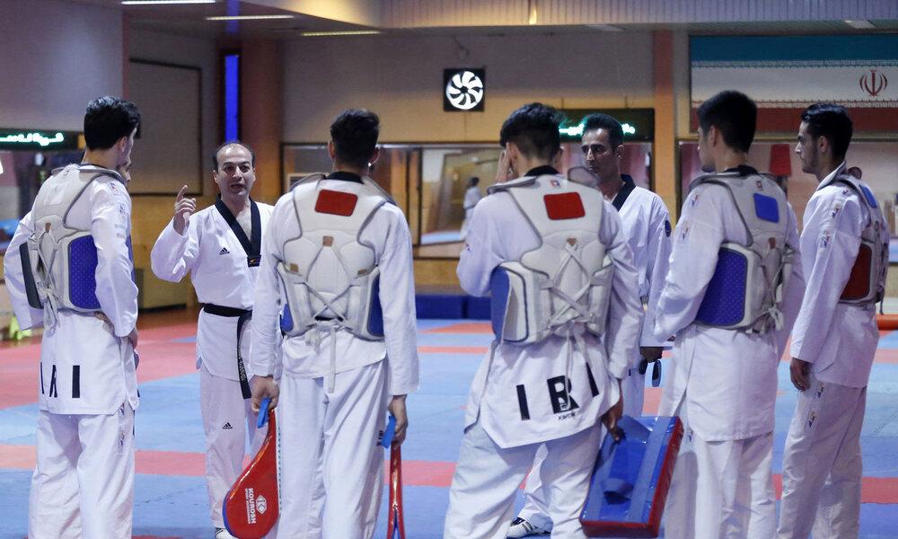 آغاز مرحله جدید تمرینات اردوی تیم ملی تکواندو از ۲۷ دی با حضور یک اصفهانی