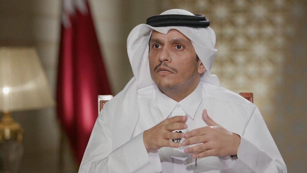 وزیر خارجه قطر وارد کابل شد