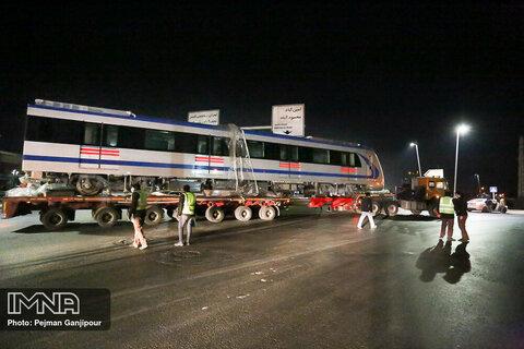 اضافه شدن دو رام قطار به ناوگان قطار شهری اصفهان
