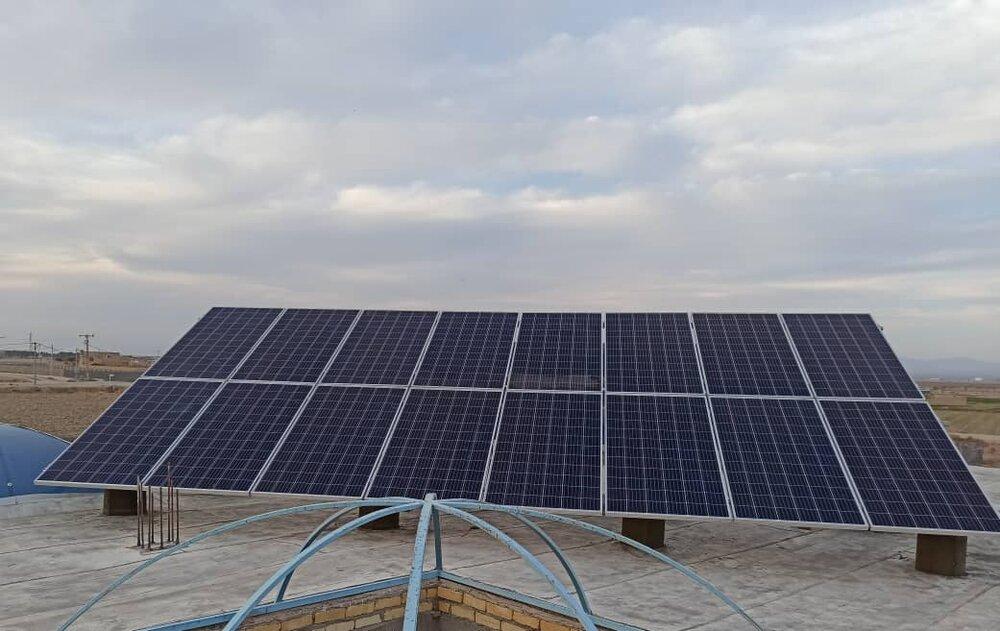 راهاندازی اولین نیروگاه خورشیدی برای محرومان در استان اصفهان