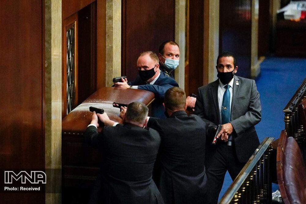 یورش هواداران ترامپ به داخل ساختمان کنگره