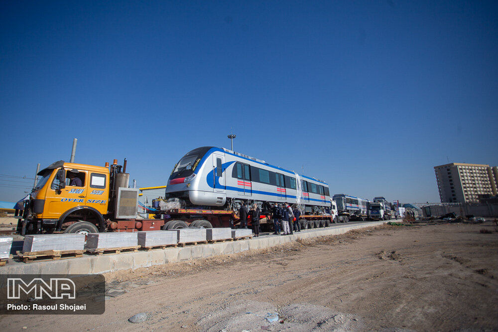 هزینه یک رام قطار ملی نسبت به نمونه خارجی ۳۰ درصد ارزان تر است