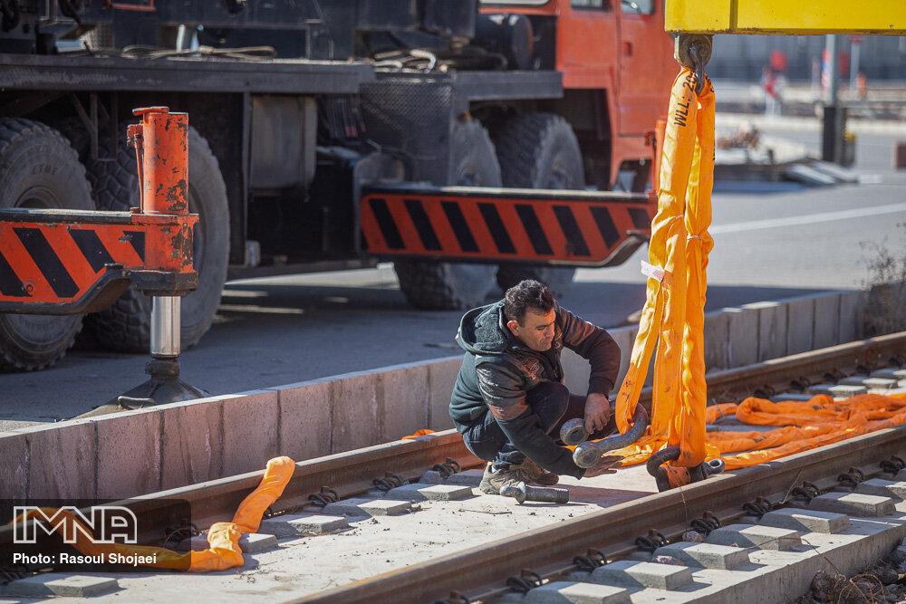 صدای سوت مترو کرج فروردین ۱۴۰۰ در ایستگاهها طنینانداز میشود
