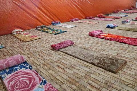 سرپناهی موقت برای شهروندان بیپناه یزد
