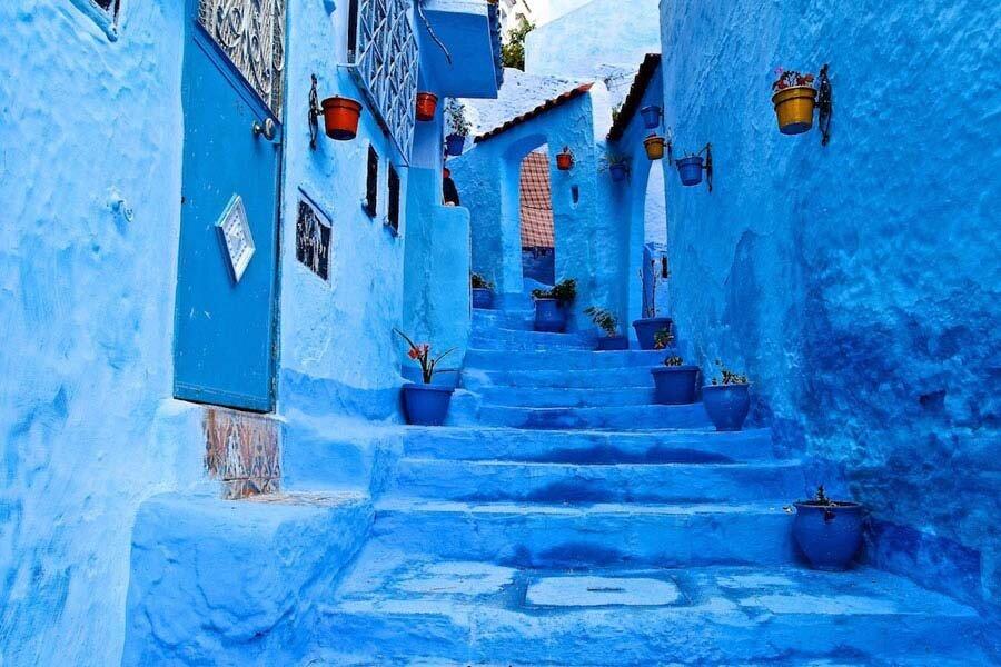 مروارید آبی مراکش گردشگر ندارد